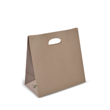 Brown Bags I AM ECO Die Cut handle
