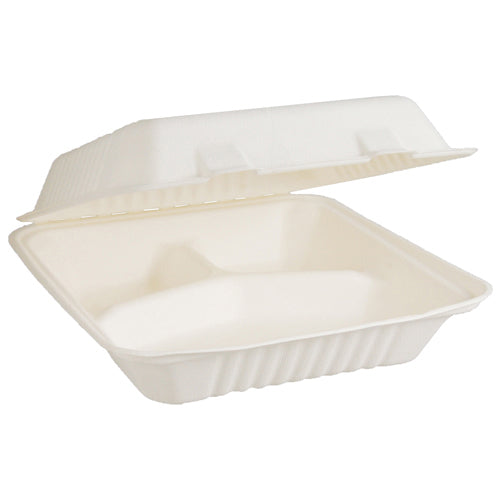 Natural Fibre Containers with Hinged Lids
