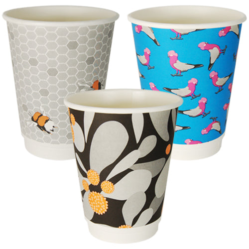 Gallery Series Single Wall Coffee Cups
