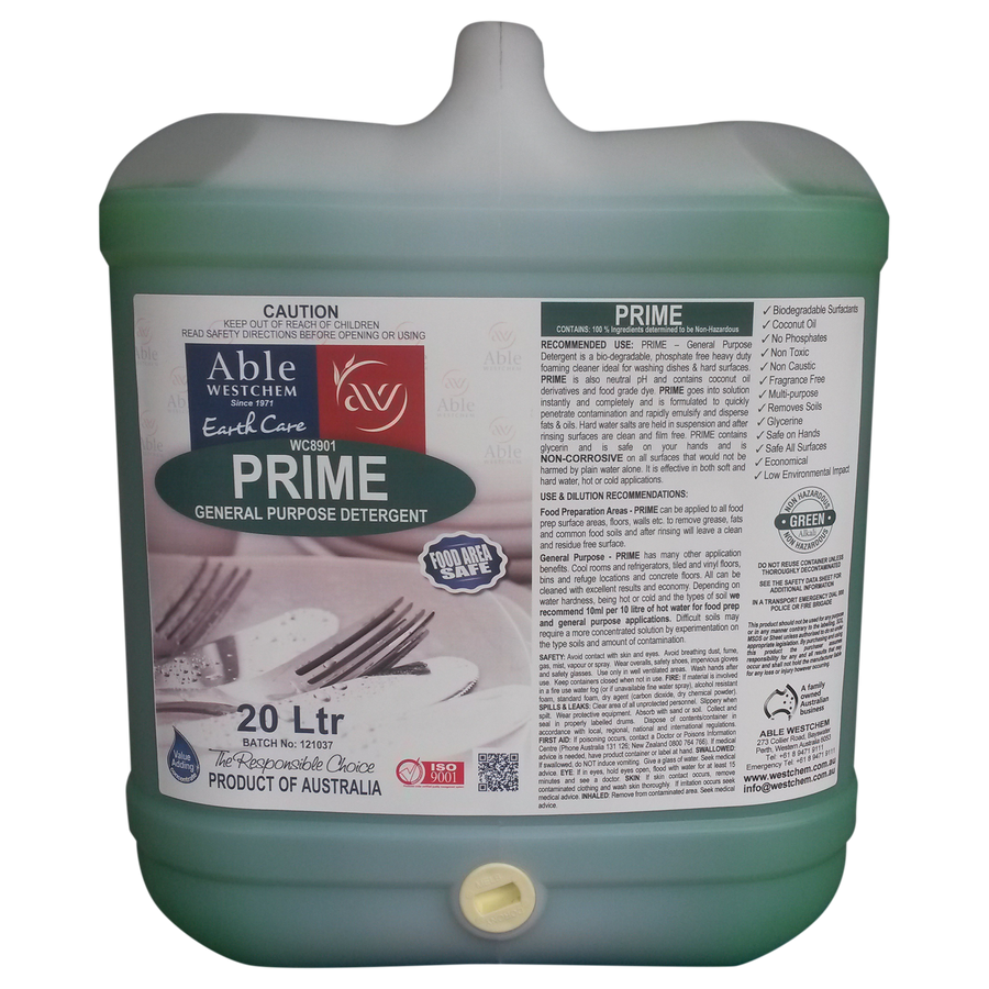 Prime Dishwashing Liquid