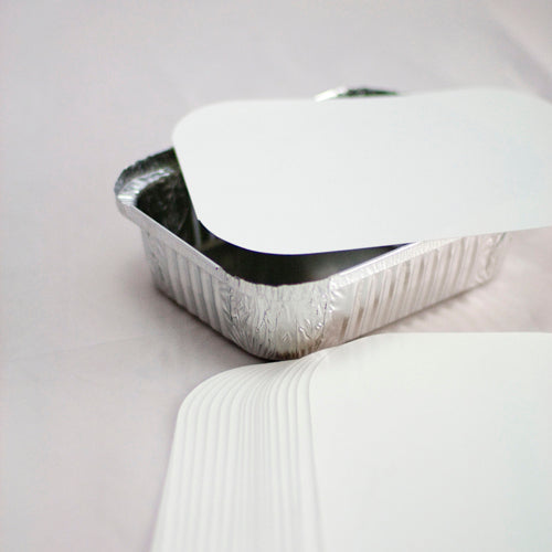 Poly Lined Lid to Suit Foil Containers
