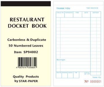 Docket Books (Carbonless)