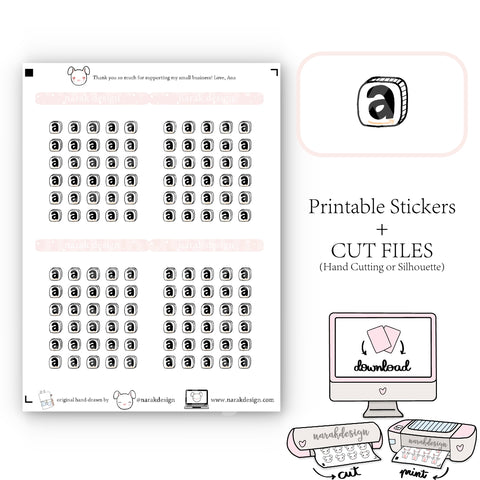 Amazon Icon (Printable+Cut Files)