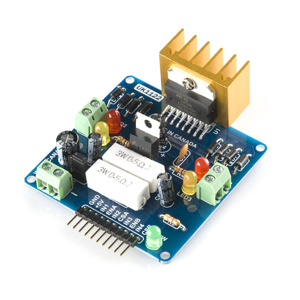 FULL-BRIDGE MOTOR DRIVER DUAL – L298N