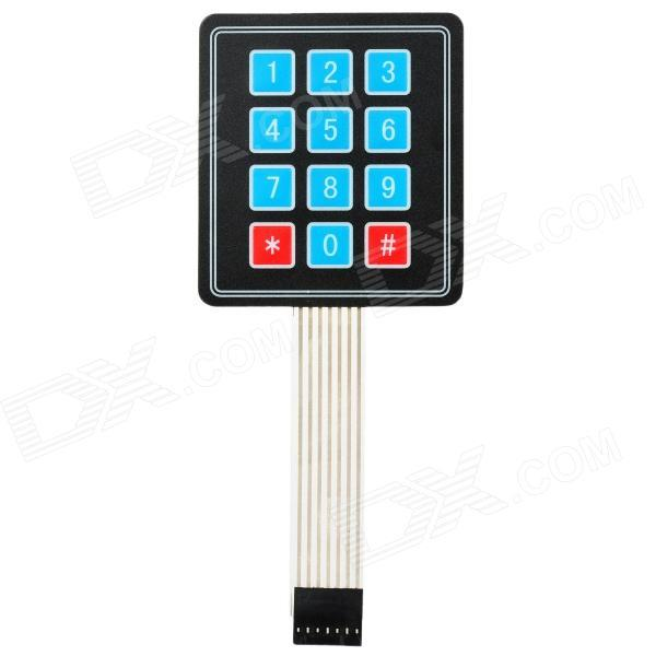 MEMBRANE 3×4 MATRIX KEYPAD