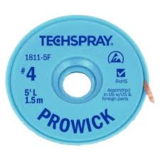 SOLDER WICK 5FT. – TECHSPRAY