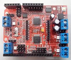 4 – CHANNELS MOTOR SHIELD
