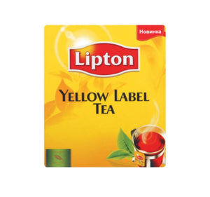 Yellow Label Tagged Tea Bags - Lipton - 100 pack