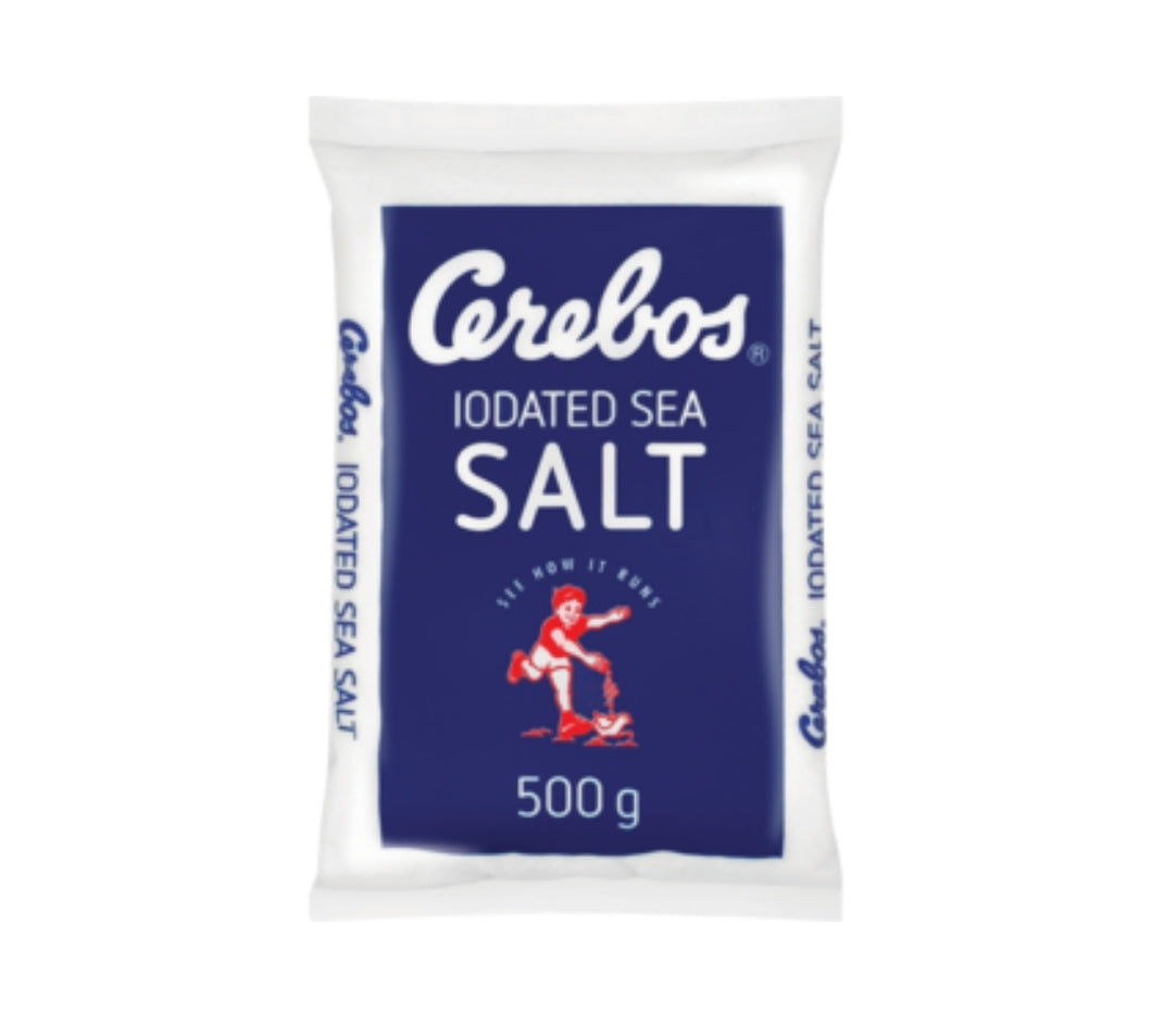 Iodated Sea Salt - Cerebos - 500g