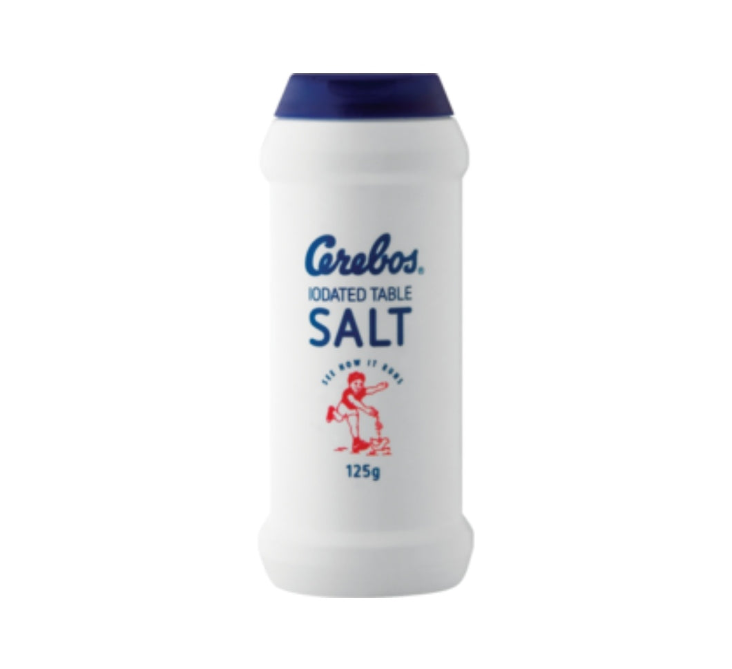 Iodated Table Salt - Cerebos - 125g