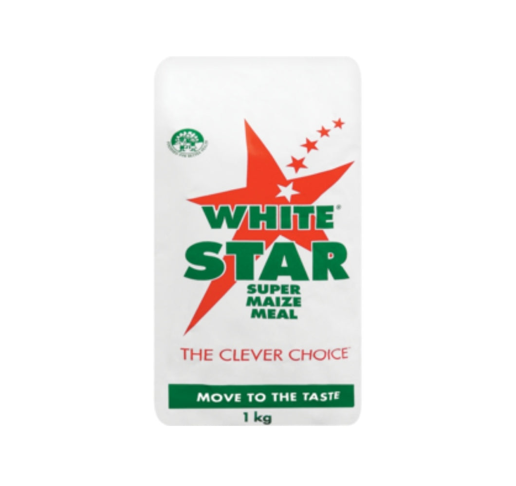 Super Maize Meal - White Star - 1kg