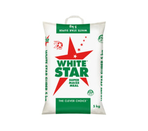 Super Maize Meal - White Star - 5kg