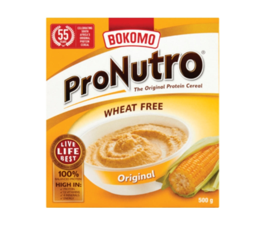 ProNutro Wheat Free Original - Bokomo - 500g