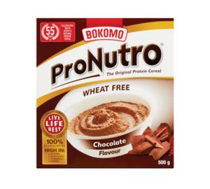 ProNutro Wheat Free Chocolate - Bokomo - 500g