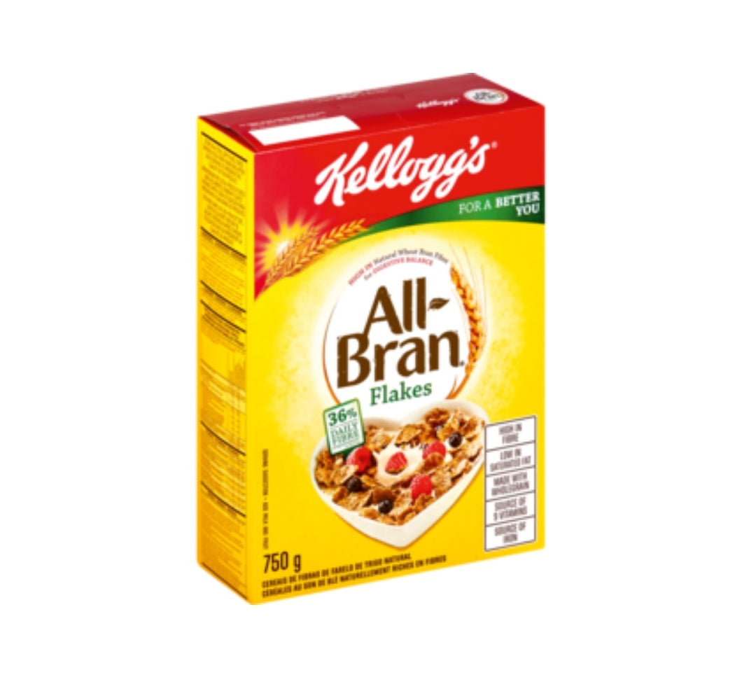 Kellogg's All Bran Flakes - 750g