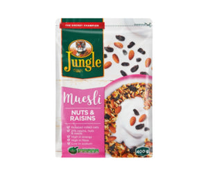Jungle Nuts & Raisins Muesli - 400g