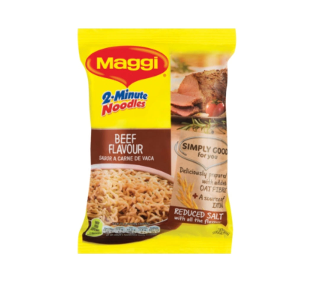 2 Minute Noodles - Beef - Maggi - 73g