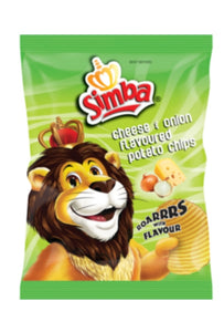 Simba Cheese and Onion Chips - 120g
