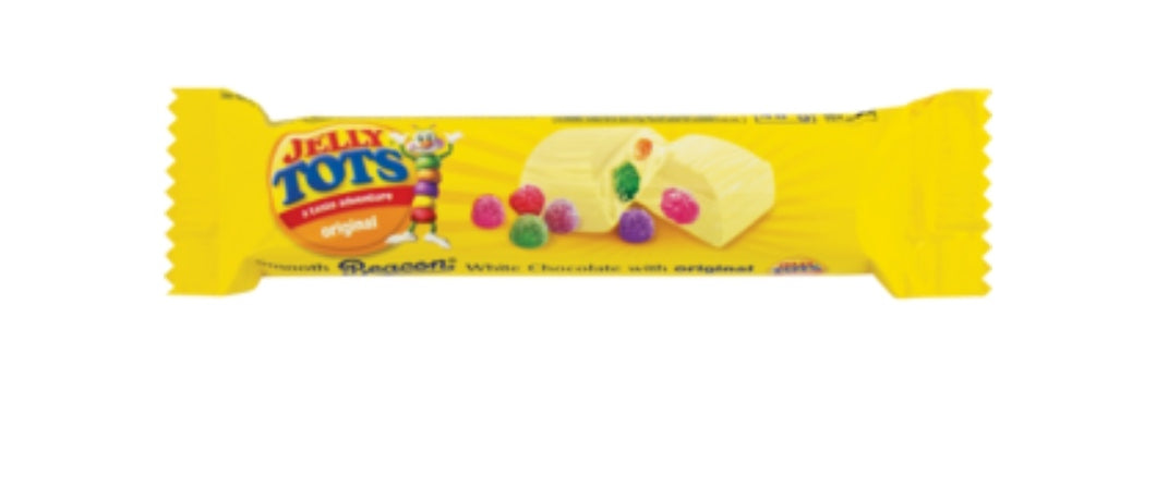 Jelly Tots White Chocolate - Beacon - 48g