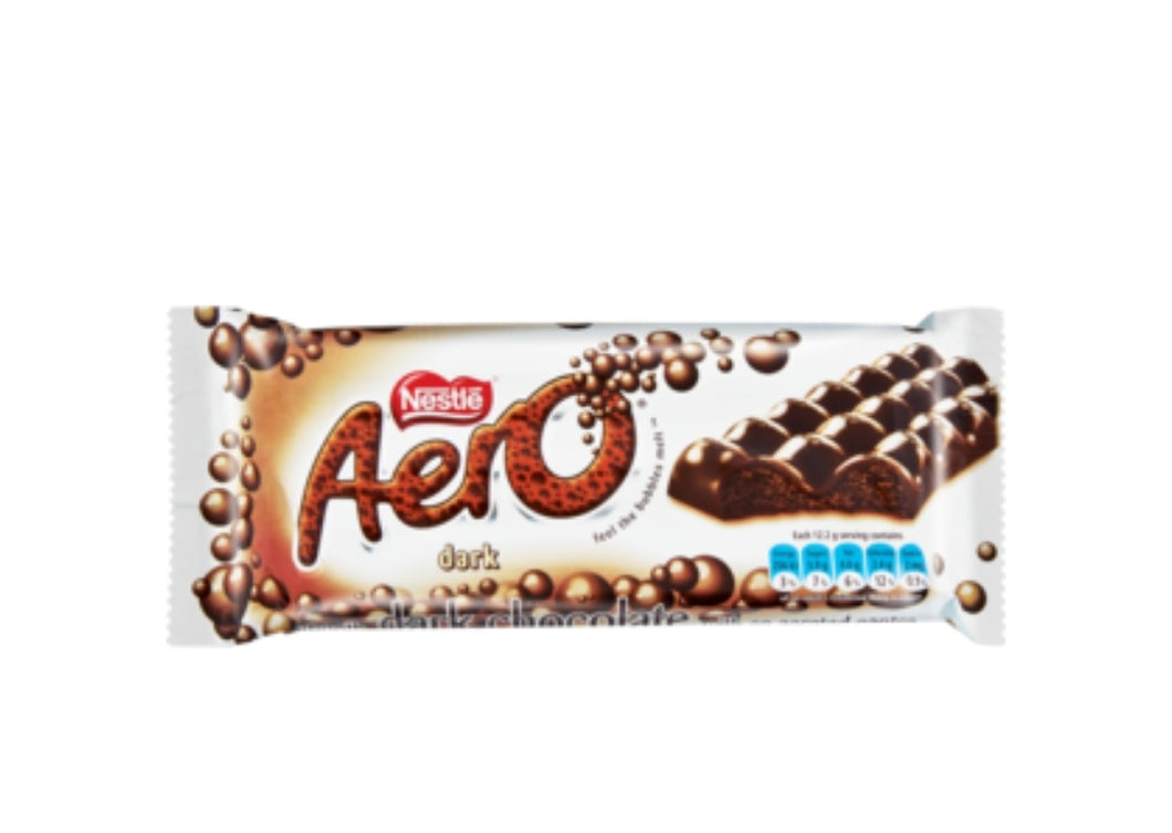 Aero Dark Chocolate - Nestle' - 135g