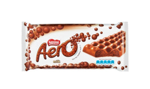 Aero Smooth Milk Chocolate - Nestle' - 135g