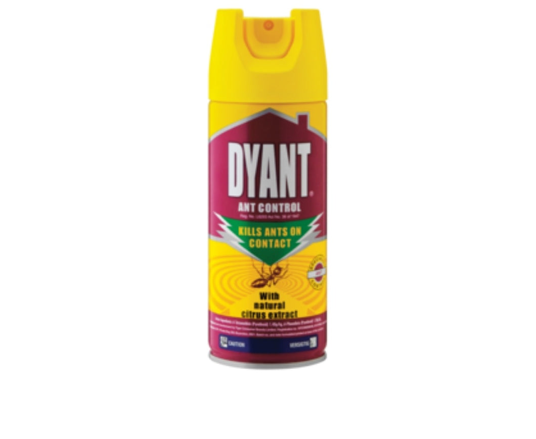 Dyant Ant Control With Natural Citrus Extract Aerosol Insecticide - 300ml
