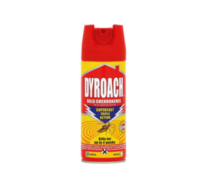 Dyroach Cockroaches Aerosol Insecticide - 180ml