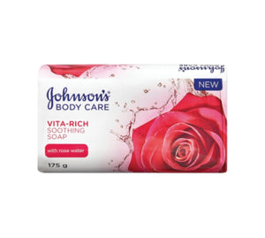 Soap - Johnson's - Rose Water - 175g