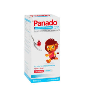 Panado Syrup - Strawberry - 50ml