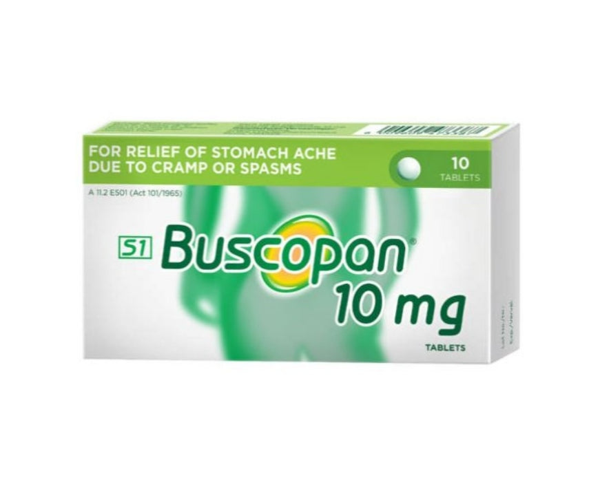 Buscopan 10MG - 10 Tablets