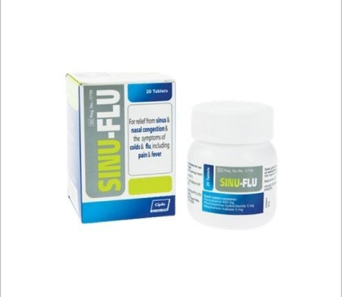 Sinu-Flu - 20 Tablets