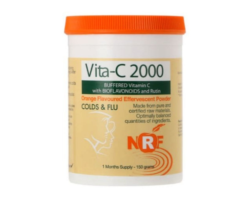 NRF Vita C 2000 - Orange Flavoured Effervescent Powder -  150g