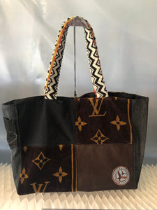 LV Leather Tote