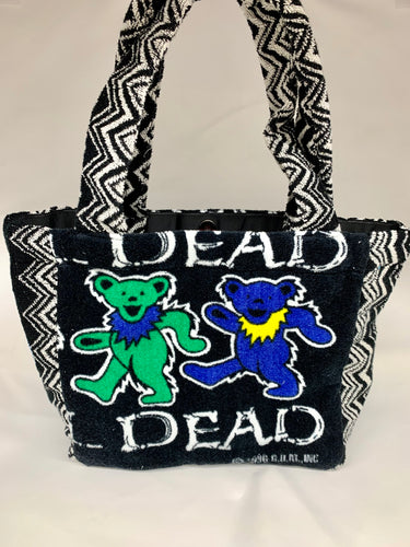 dancing bears mini tote