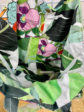 Banana Leaf Palm/Spring Meadow Large Tote