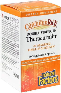 NATURAL FACTORS CurcuminRich Theracurmin (60 mg - 60 Veg Caps)