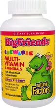 Load image into Gallery viewer, NATURAL FACTORS Big Friends Multi 60 Chewables
