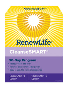 RENEW LIFE CleanseSMART (30 Day Program)