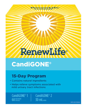 RENEW LIFE CandiGONE (15 Day Program)