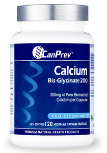 CANPREV Calcium Malate Bis-Glycinate 200 (120 Caps)