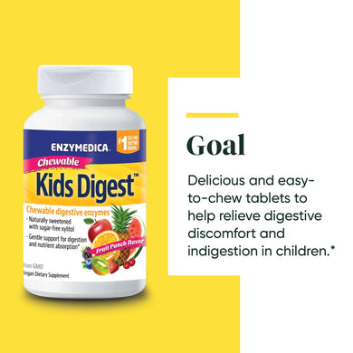 Enzymedica Kids Digest (60 chews)