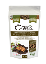 Load image into Gallery viewer, Organic Traditions Dark Chocolate Covered Almonds