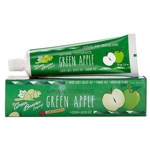 Green Beaver Toothpaste Green Apple