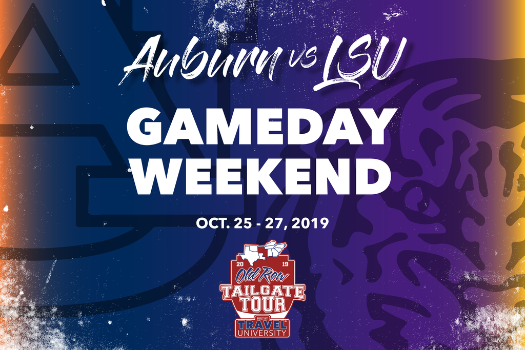 Auburn vs LSU Gameday Weekend | Old Row Tailgate Tour