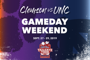 Clemson vs UNC Gameday Weekend | Old Row Tailgate Tour