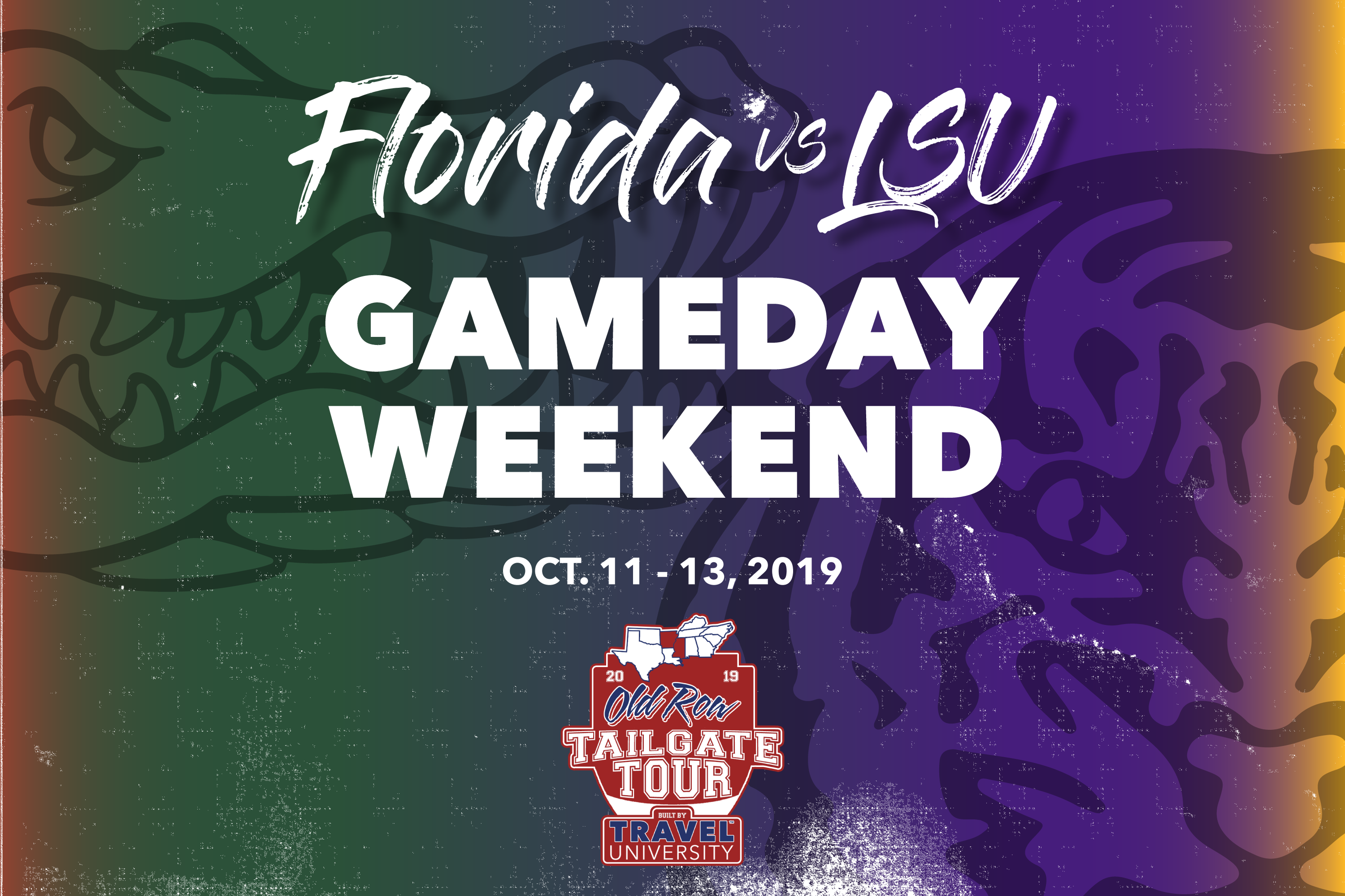 Florida vs LSU Gameday Weekend | Old Row Tailgate Tour