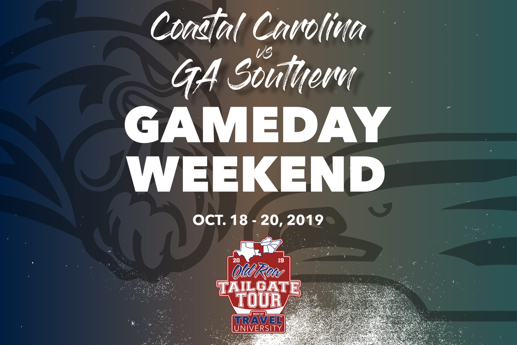 Coastal Carolina vs Georgia Southern Gameday Weekend | Old Row Tailgate Tour