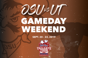 Oklahoma State vs UT Gameday Weekend | Old Row Tailgate Tour