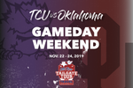 TCU vs Oklahoma Gameday Weekend | Old Row Tailgate Tour