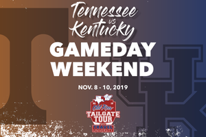 Tennessee vs Kentucky Gameday Weekend | Old Row Tailgate Tour